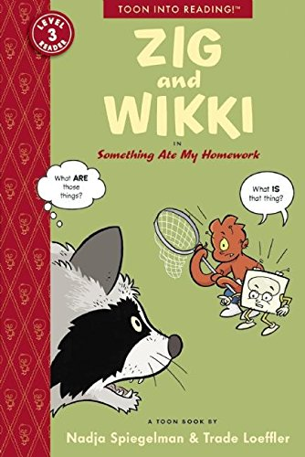 Zig and Wikki in Something Ate My Homework: Toon Books Level