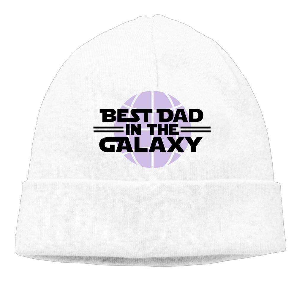 Aiw Wfdnn Beanie Hat Best Dad in The Galaxy Warm Knit Cap for Mens