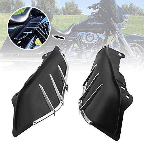 Ip Tint (Liteway 2xMid-Frame Air Deflector Upgraded Chrome Trim for 09-16 Harley-Davidson Touring & Trike, 2 Years)