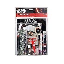 Star Wars School & Art Set - Pencils, Eraser Sharpener, Glue, Scissors, etc. - 11pc set