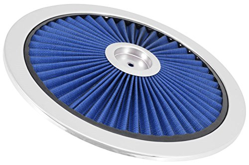 14' Chrome Air Cleaner - Spectre Performance 47616 Blue 14