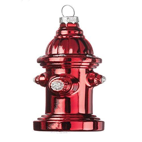 Sullivans Red Fire Hydrant Ornament Home Decor