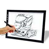 17'' Drawing Tablet, Autolizer Adjustable Brightness Tattoo Tracing Pad, LED Board Art Drawing Table Light Box for Animation, Sketching, Designing, Stenciling, Drawing,Sewing (17'')
