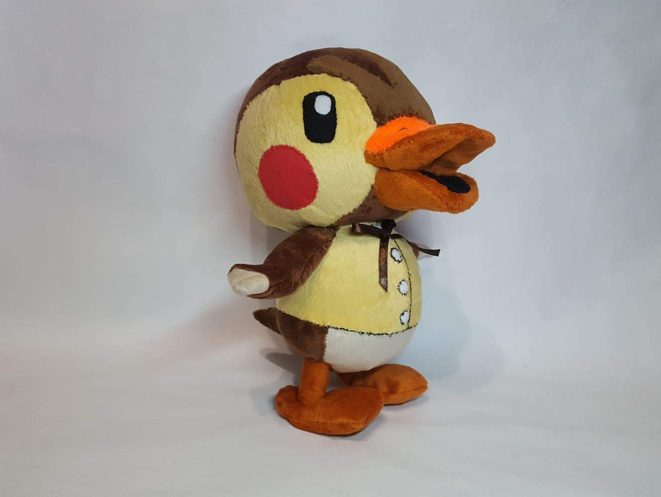 Custom toy inspired by Molly from Animal crossing Duck plush made to order 30 cm minky