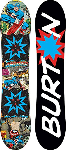 Burton Chopper LTD Marvel Snowboard Boys Sz - Chopper Youth Burton