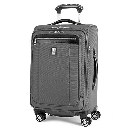 - Travelpro PlatinumMagna2 Carry-On Expandable Spinner Suiter Suitcase, 21-in., Charcoal Grey