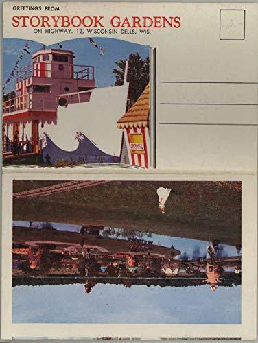 Greetings From Storybook Gardens Amusement Park - Wisconsin Dells - 1961 Colourpicture Souvenir Postcard Folder