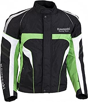Kawasaki Racing Team Sports textil Chaqueta verde. Moto ...