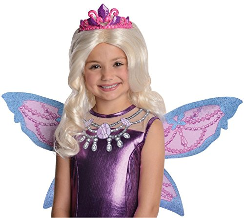 Barbie Fairytopia Mariposa and Her Butterfly Fairy Friends Mariposa Barbie's Catiana Wig with Attached Tiara (Barbie Fairytopia Costume)
