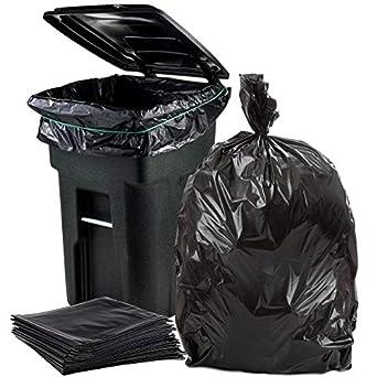 Bolsas de basura para Toter, color negro, 1,5 ml, 50 x 60 ...