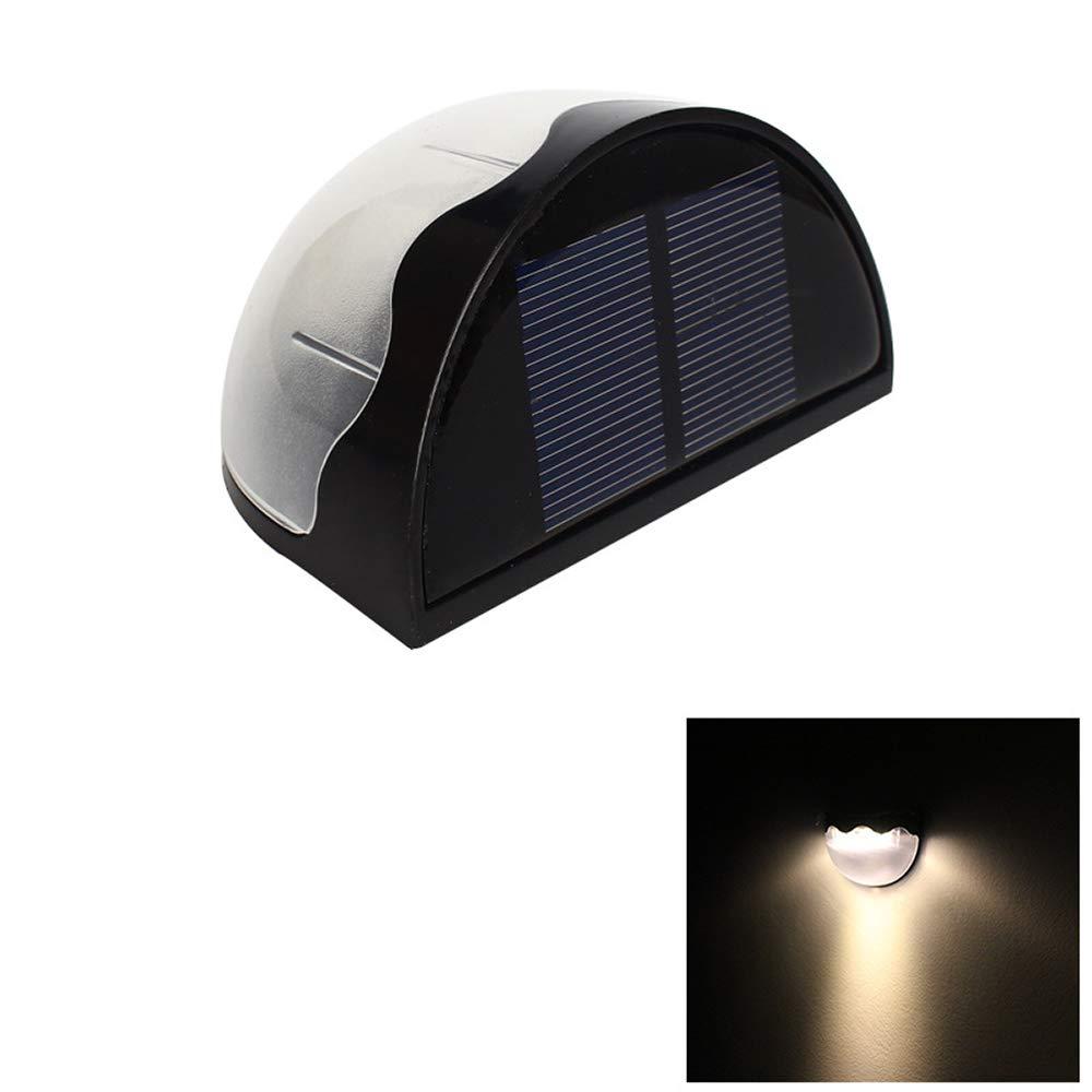 Solar Fence Lights & Garden Lights, 12 Pack   Luci da Giardino a LED - Accendi il Tuo Patio, Recinto, Giardino, Vialetto   Pannello Solare di Sicurezza a LED