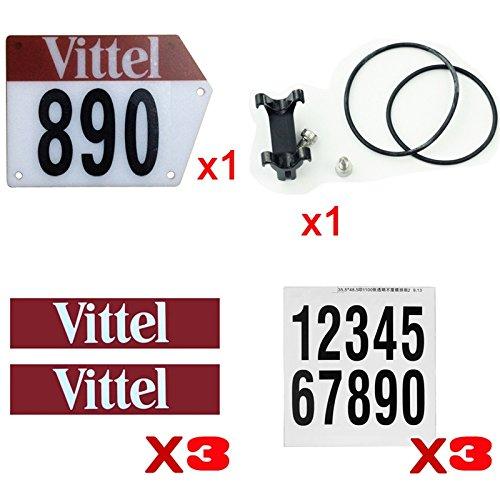 Number Bracket (Silverock Custom Racing Number Plate Mount Bracket Holder for Aero V Seatpost)