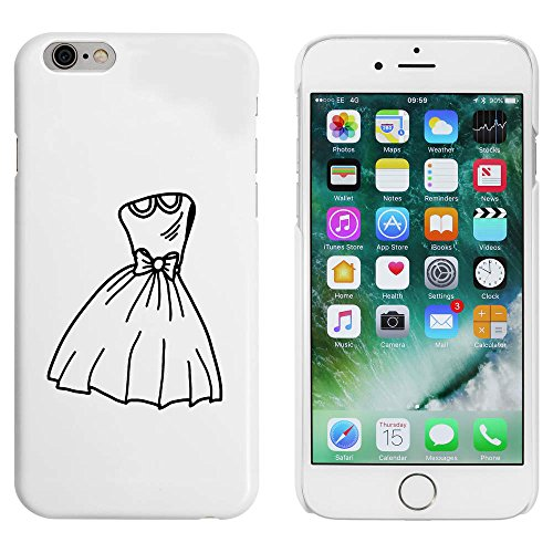 Blanc 'Robe de Fête' étui / housse pour iPhone 6 & 6s (MC00087505)
