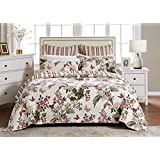 Greenland Home Butterflies Full/Queen Quilt Set