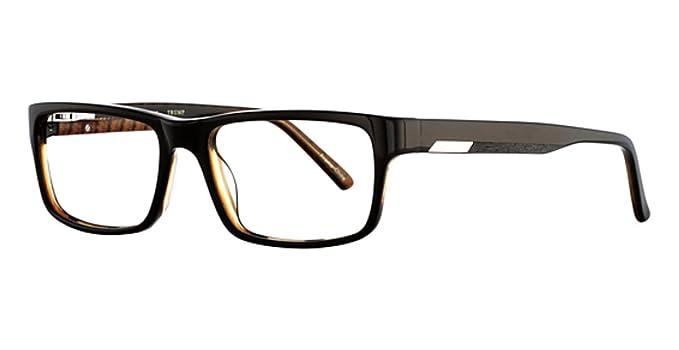 be9ae2815dd Source · Donald J Trump Men s DT77 Brown 55mm Eyeglasses Size 55 17 145 B35