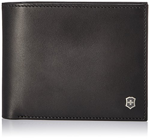Accessory Leather Bi fold and Victorinox Edge Rfid Black Fermat With Passcase Wallet Altius tqw7Owv