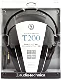 Audio-Technica Closed-Back Dynamic Monitor Headphones with 40mm Driver - Black