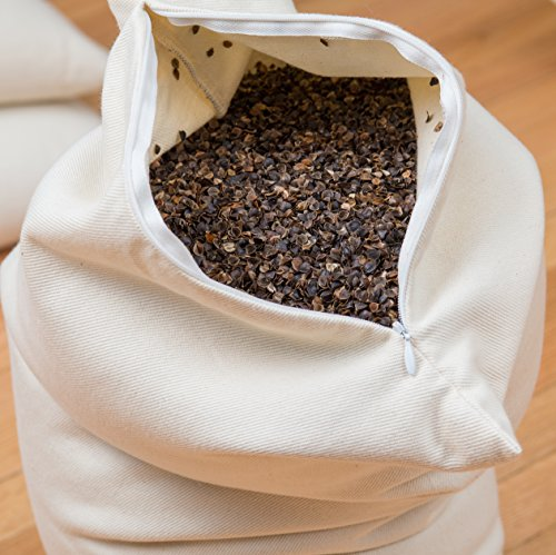 Buckwheat Pillow (Made in USA) - ComfySleep (20'' X 26'')