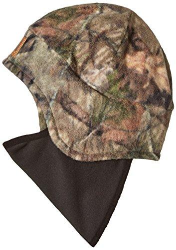 Carhartt Men's Camo Fleece 2 in 1 Headwear, Mossy Oak Break up Country, OFA