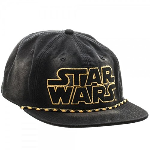 Star Wars Logo Washed Unstructured 6 Panel - Snapback Star Wars