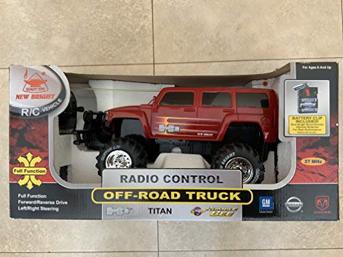 New Bright 1:16 Scale 6V Radio Control Pick-Up Truck: Nissan Titan 27 MHz