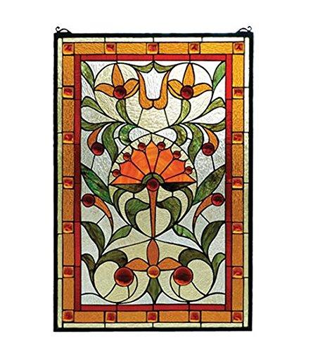 (Meyda Tiffany 98229 Picadilly Stained Glass Window, 20