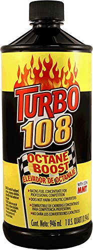Blue Magic NA31-12PK Turbo 108 Octane Boost – 32 fl. oz., (Pack of 12)