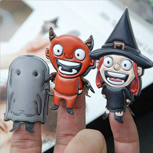 XuBa Finger Puppets Halloween Christmas Toys Parent-Child Interactive