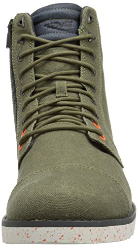 Casual Dark Durban Canvas Mid Teva M Olive Boot Waxed Men's Tall 1qWz0Cw