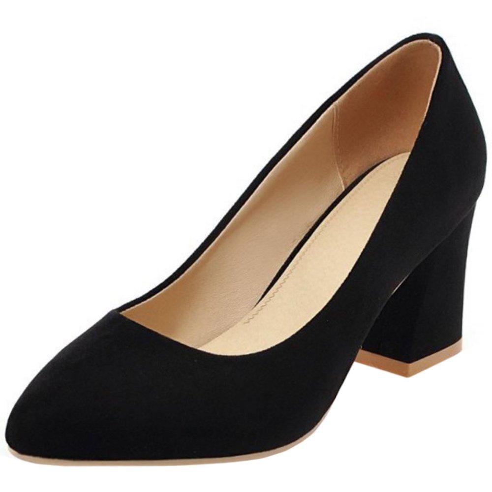 Zanpa Heels Femmes 1#black High Formel Work Escarpins High Heels 1#black 9b78a59 - conorscully.space