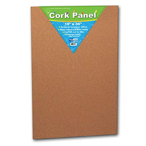 Panel Cork Dark - Flipside FLP37016BN Cork Panel, 16