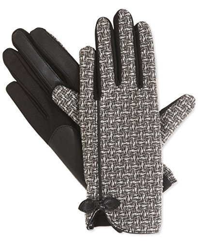 Isotoner Signature Stretch Basket Weave Tech Touch Gloves (X-Large)