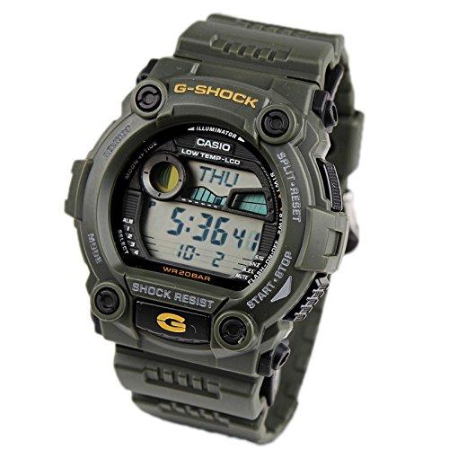 Casio G-7900-3DR - Reloj (Reloj de Pulsera, Resina, Negro, Gris, Resina, Negro, Mineral): Casio: Amazon.es: Relojes