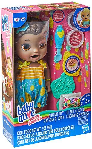 Boneca Lanchinhos Divertidos, Baby Alive, E5839, Negra