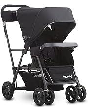 Joovy Caboose Ultralight Graphite Stand-On Tandem Stroller, Black
