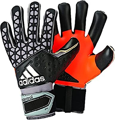 adidas ACE Zones Pro Iker Casillas Soccer Goalkeeper Gloves (Solar Red, Black, Orange)