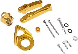 Sharplace Kit Support de Montage de Amortisseur de Direction Stabilisateur pour Daytona 675R - Noir