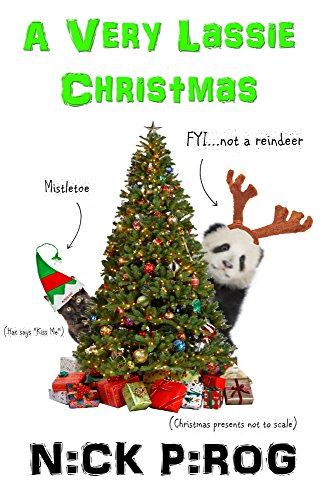"""A Very Lassie Christmas & 3:39 a.m. """"The Bachelor Party"""": (The Lassie Files Books 3 & 4)"""