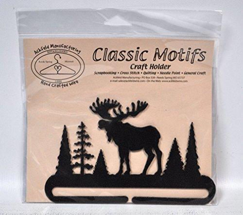 - Classic Motifs 6 Inch Alaska Moose Craft Holder