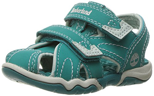 (Timberland Adventure Seeker Closed Toe Sandal, Teal Blue, 13 M US Little Kid)