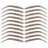 vegetable dye for eyebrows - Cardani Eyebrow Tattoos #17 - Classic Shape Temporary Tattoo Eyebrows - Light Brown