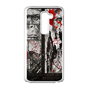 LG G2 Cell Phone Case White Dawn-Of-The-Planet-Of-The-Apes Generic Cheap Phone Case Cover XPDSUNTR35271