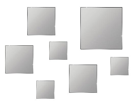 Specchi decorativi da parete pezzi fissaggio adesivo specchio