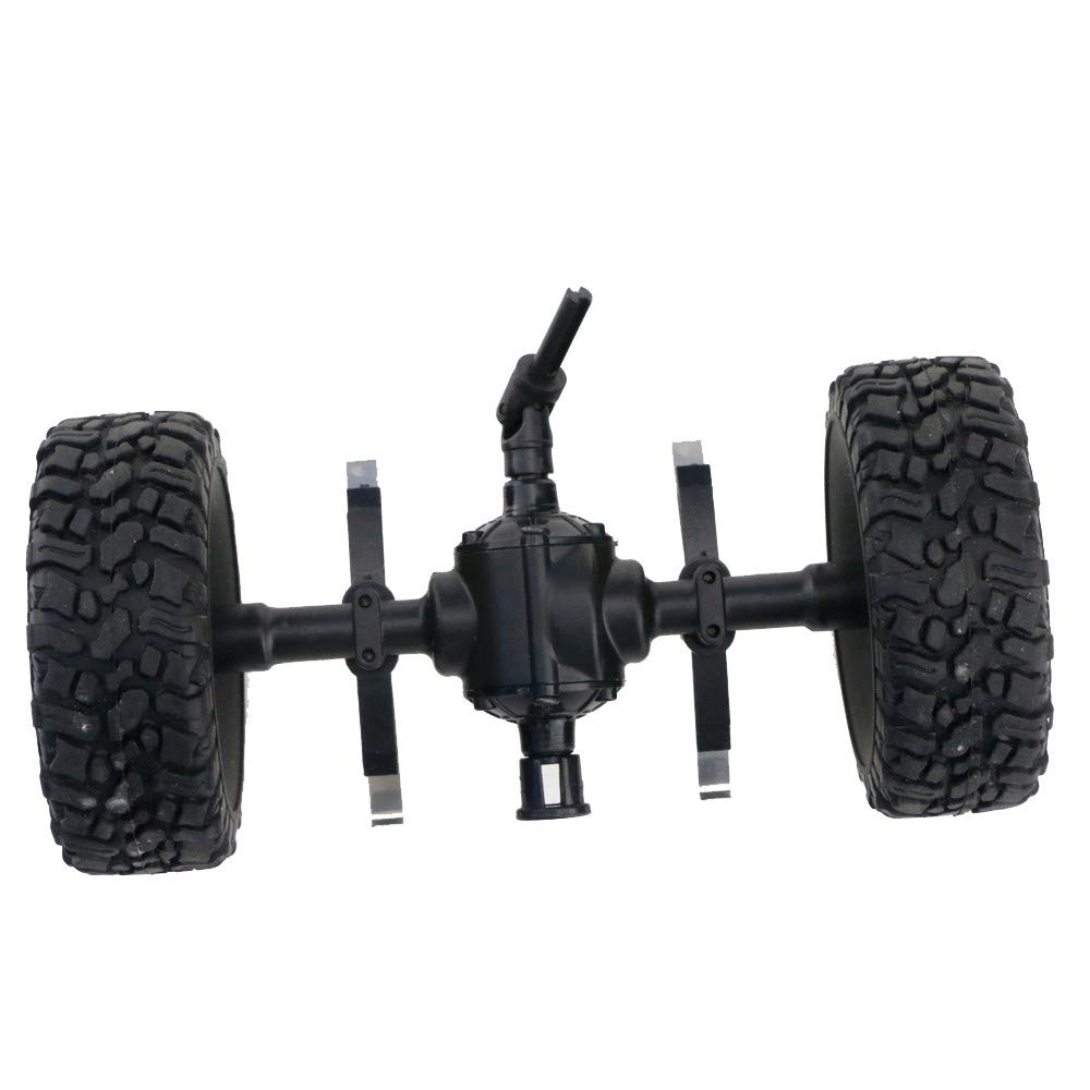 Tronet Remote Control Car,JJRC Sturdy Centra Axle Assembly Spare Part for JJRC Q60 1:16 RC Military Car