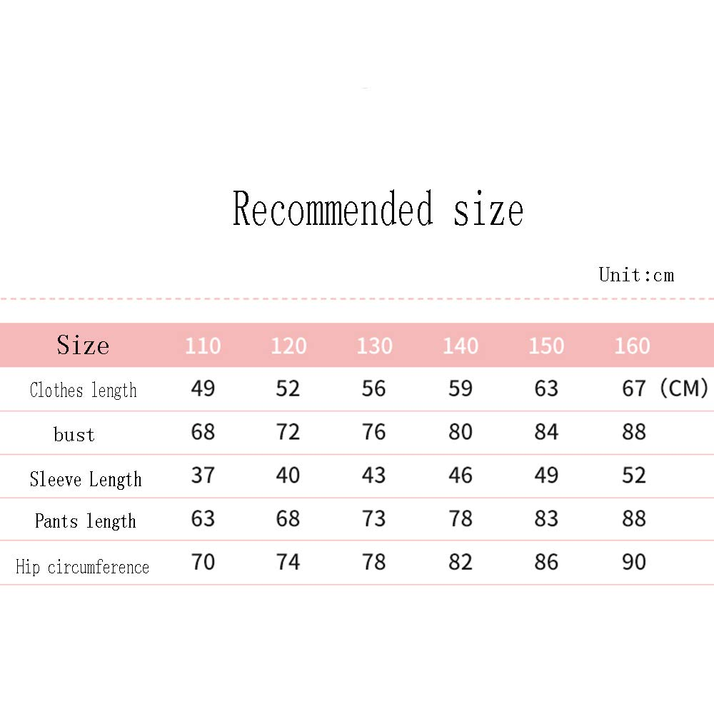 2 Colors Optional Nightclothes ZAYSY XRXY Pyjamas Child Thicken Lace Stitching Pyjamas Keep Warm Lengthened Comfortable Skin-Friendly Home Clothing Set Simple Convenient Girl Casual Wear