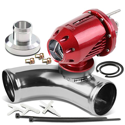 Ssqv Universal Blow Off Valve (Universal Adjustable SQV Turbo Blow Off Valve Type-2 (Red) + 2.5