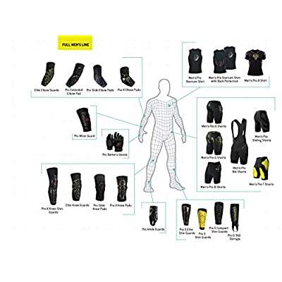 G-Form Elbow Pads Black, L - Men's : Skate And Skateboarding Elbow Pads : Sports & Outdoors