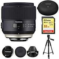 Tamron 35mm SP F/1.8 Di VC Vibration Compensation AutoFocus Ultra Silent Drive (model F013) For CANON With BONUS Tamron Tap-In Console, Lexar 32GB 1000x SD Card & More ADDITIONAL $50 MAIL IN REBATE