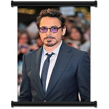 Amazon Com Robert Downey Jr Sexy Fabric Wall Scroll