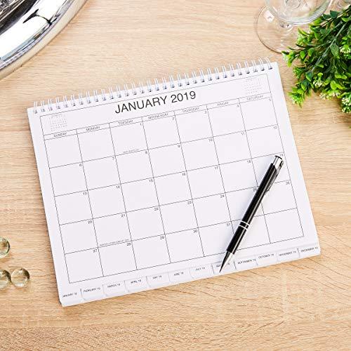 5 Year Calendar Planner 2019 2023 Monthly Schedule Organizer